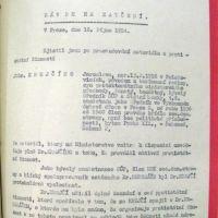 Návrh na zatčení prof. Jaroslava Krejčího (ABS)